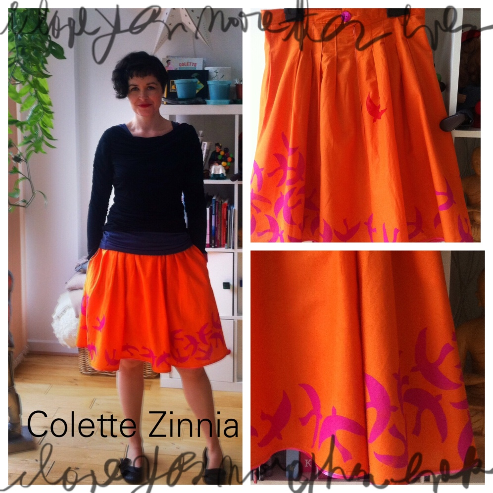 Colette Patterns Zinnia skirt