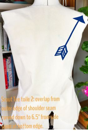 Grainline Scout Tee split-back curateandcreate.me