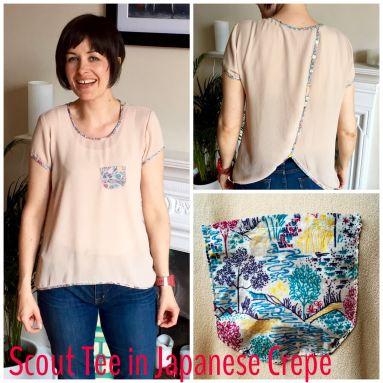 Japanese crepe Scout Tee