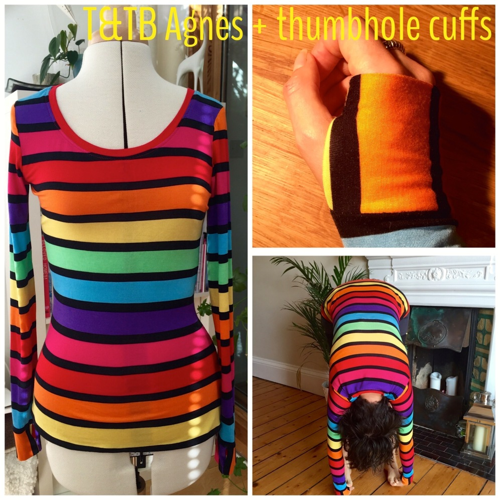 Tilly and the Buttons Agnes with thumbhole cuffs