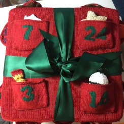 Sirdar knitted advent calendar