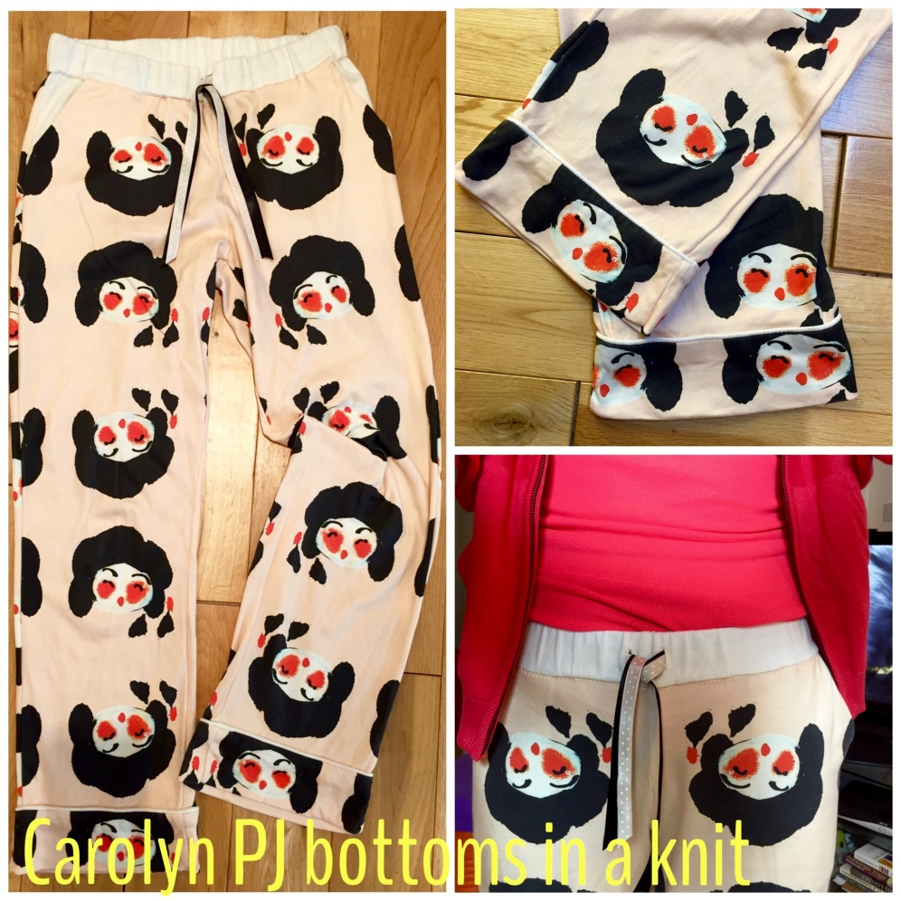 Knit Carolyn Pajama bottoms