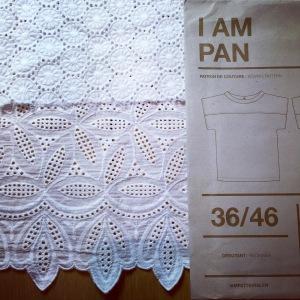 I Am Patterns Pan top