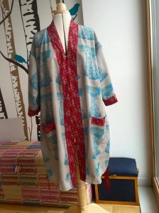 Gather patterns The Buchanan dressing gown
