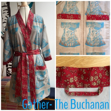 Gather patterns The Buchanan dressing gown
