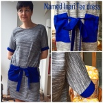 Named Inari tee dress with tie pockets