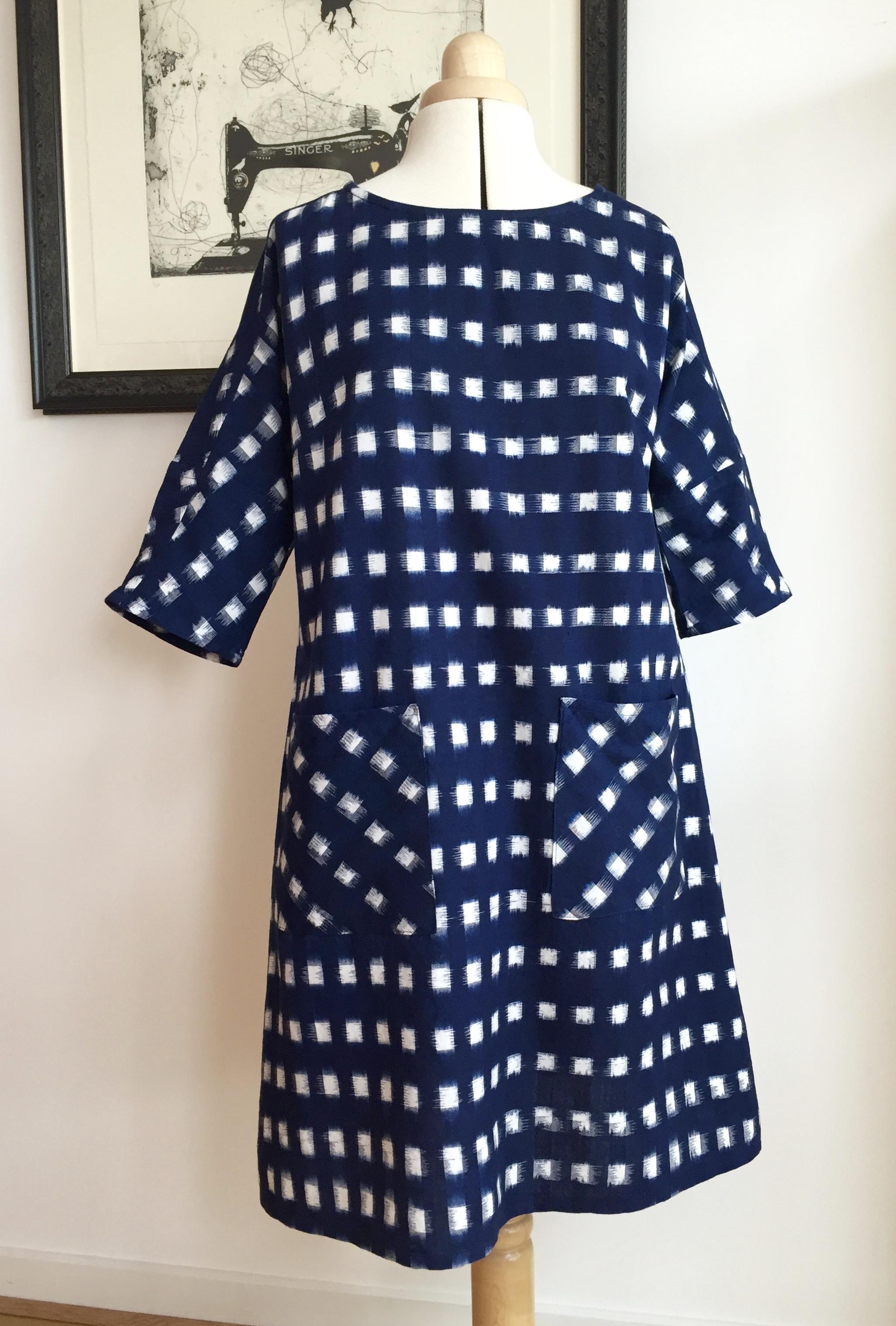 Christine Haynes ikat Lottie dress | Curate and create