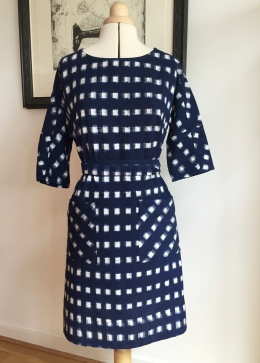 Christine Haynes ikat Lottie dress