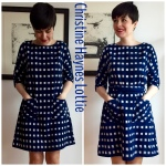 Christine Haynes ikat Lottie dress