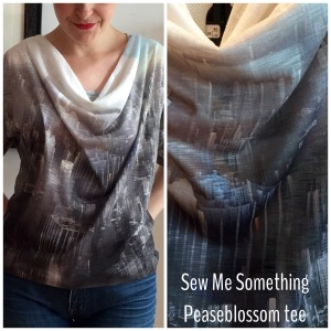 Sew Me Something Peaseblossom tee