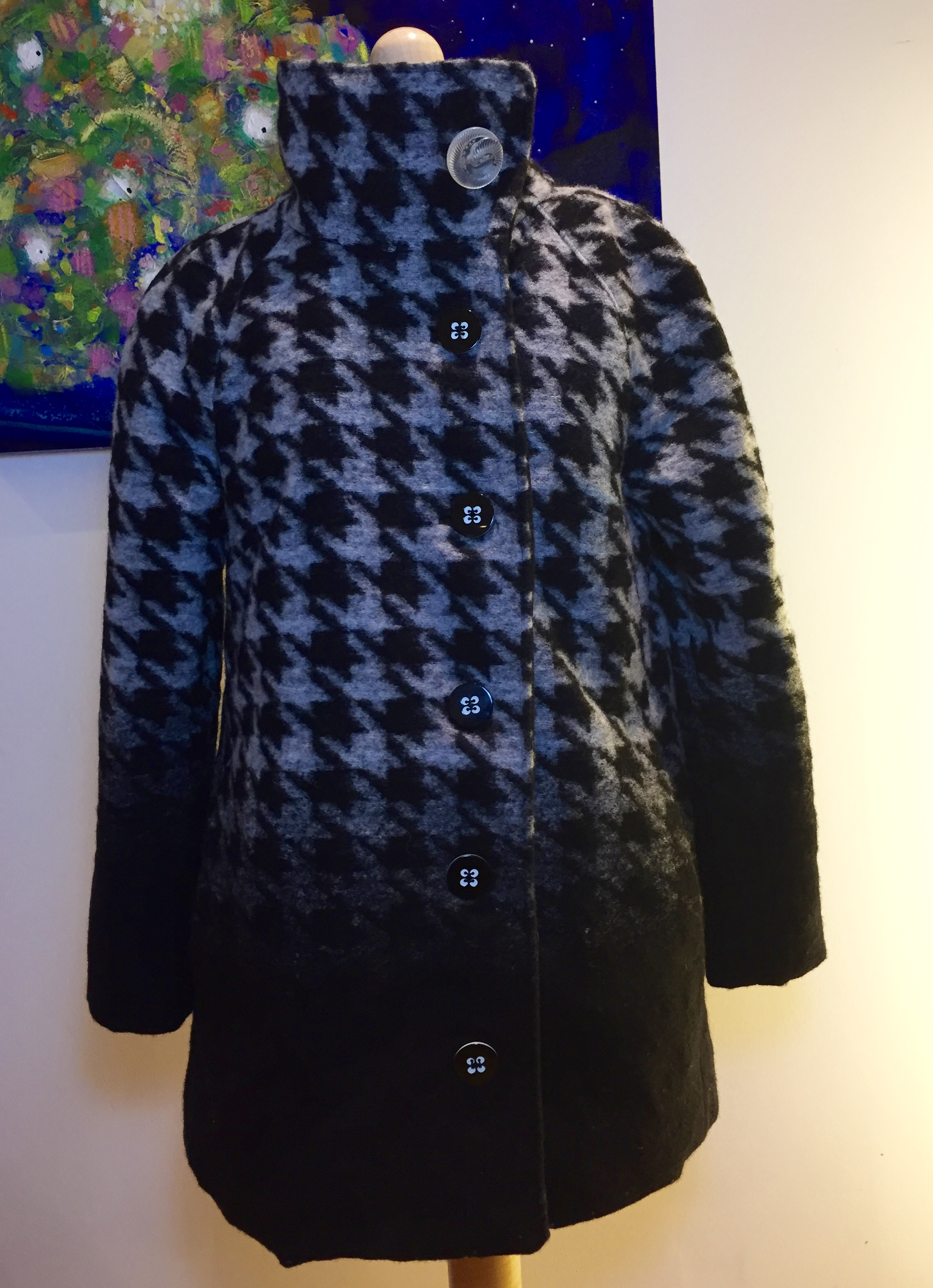 ... Houndstooth View B Closet Case Clare Coat ...