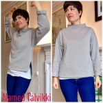 Named Talvikki grey sweatshirt