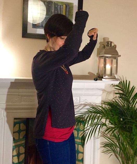 Linden-Talvikki sweatshirt mash-up