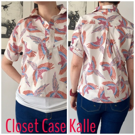 Closet-Case Kalle shirt lengthened