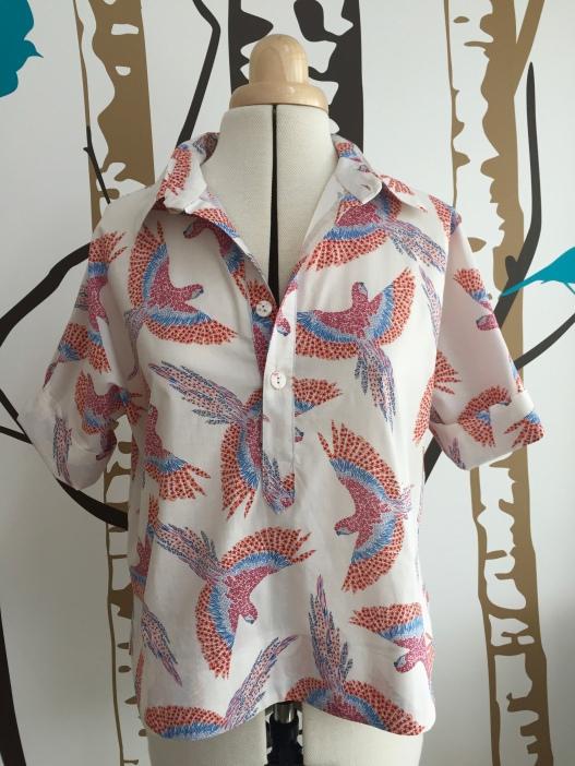 Closet-Case Kalle shirt lengthened