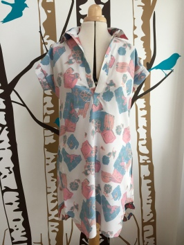 Closet-Case embroidered Kalle shirtdress