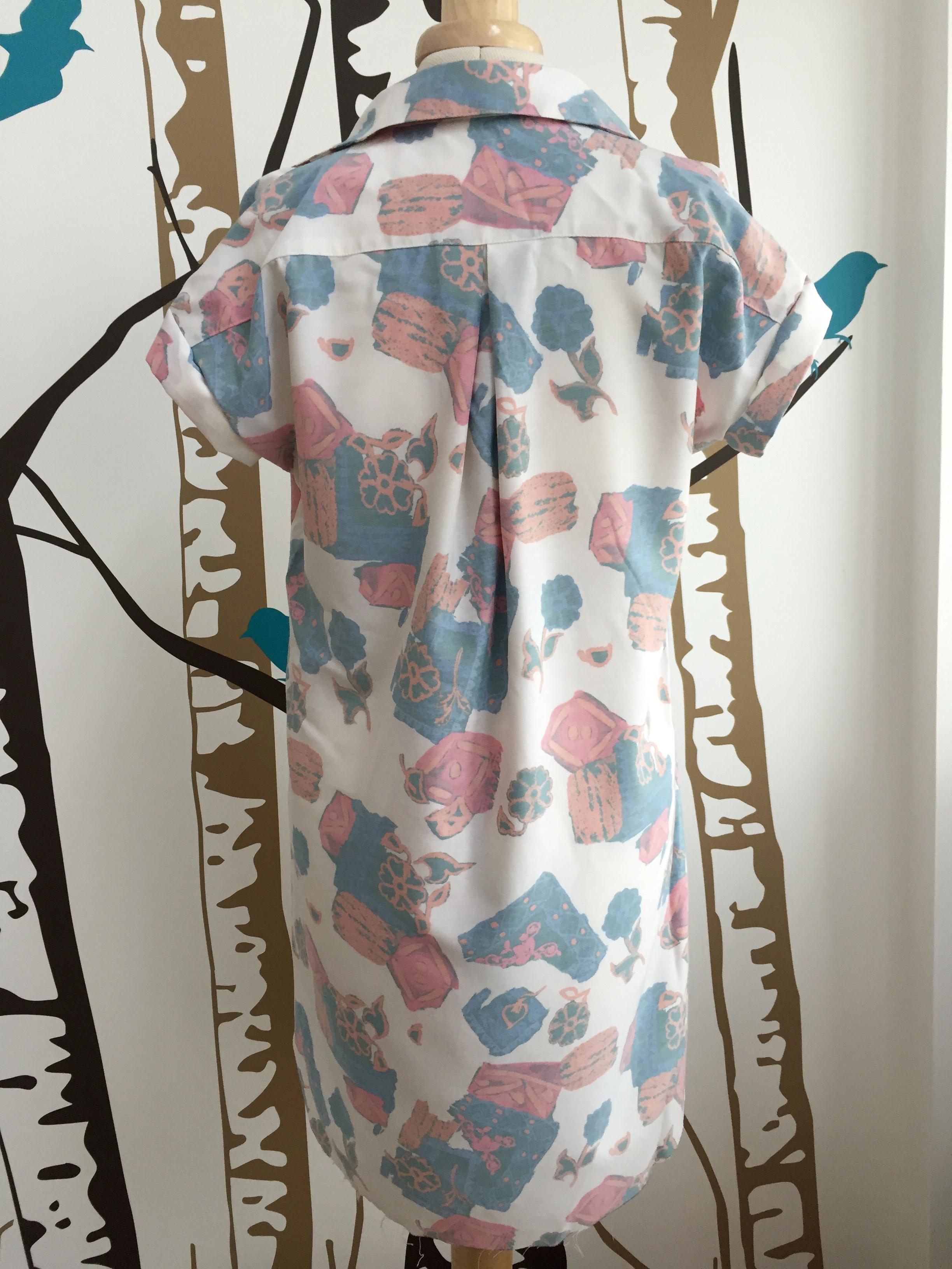 Closet-Case embroidered Kalle shirtdress