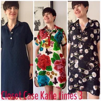 Closet Case Kalle - three versions