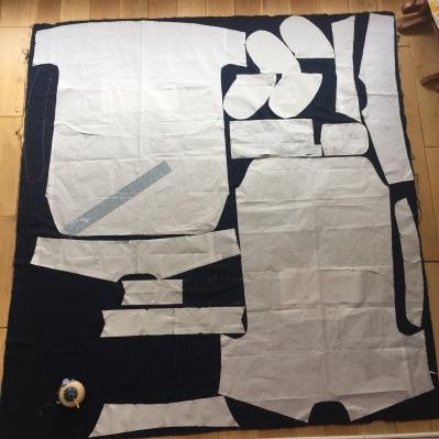 Closet Case Kalle shirtdress in pinstripe rayon