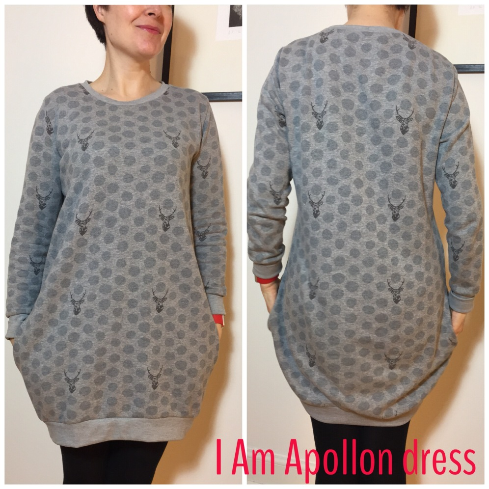 I Am Patterns Apollon dress