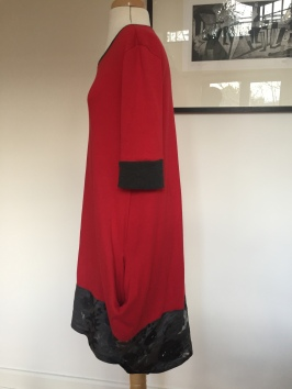 Named Inari extreme cocoon dress