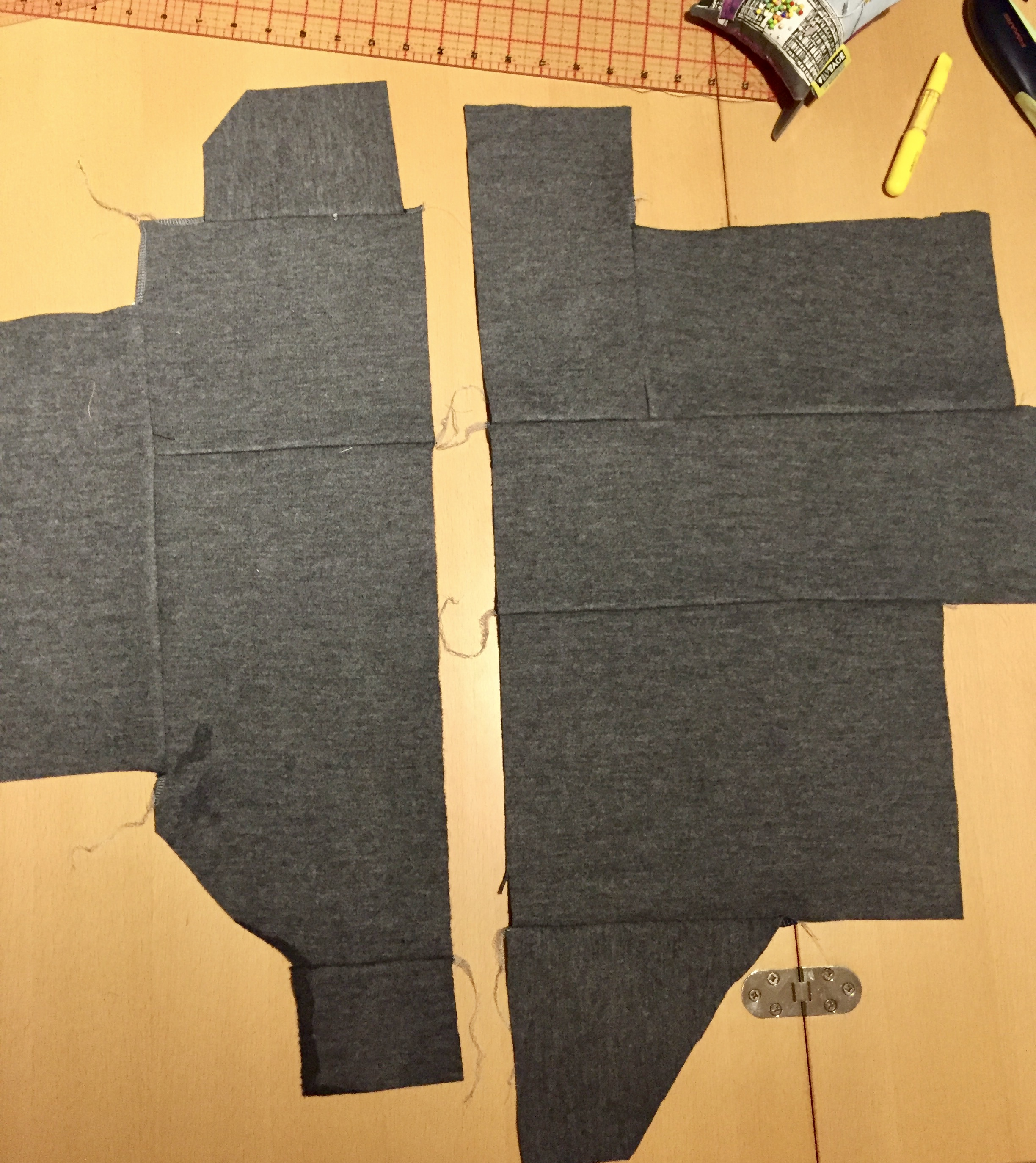 Knit Papercut Sapporo - shortened and unlined