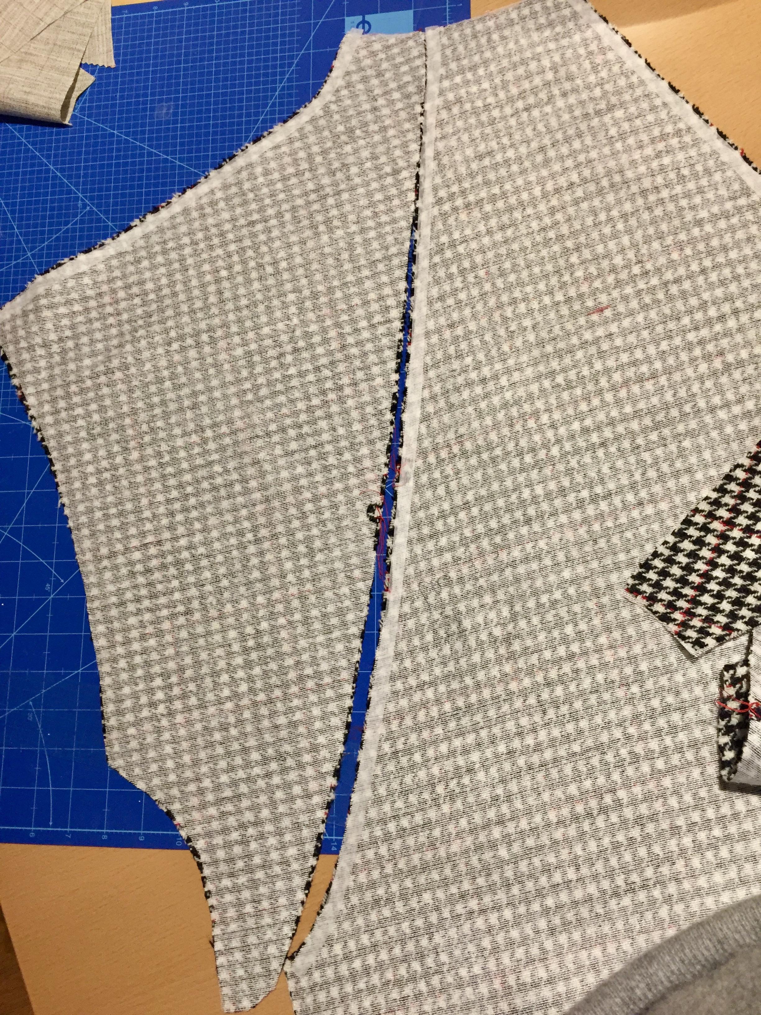 Papercut Sapporo that fastens in Harris Tweed