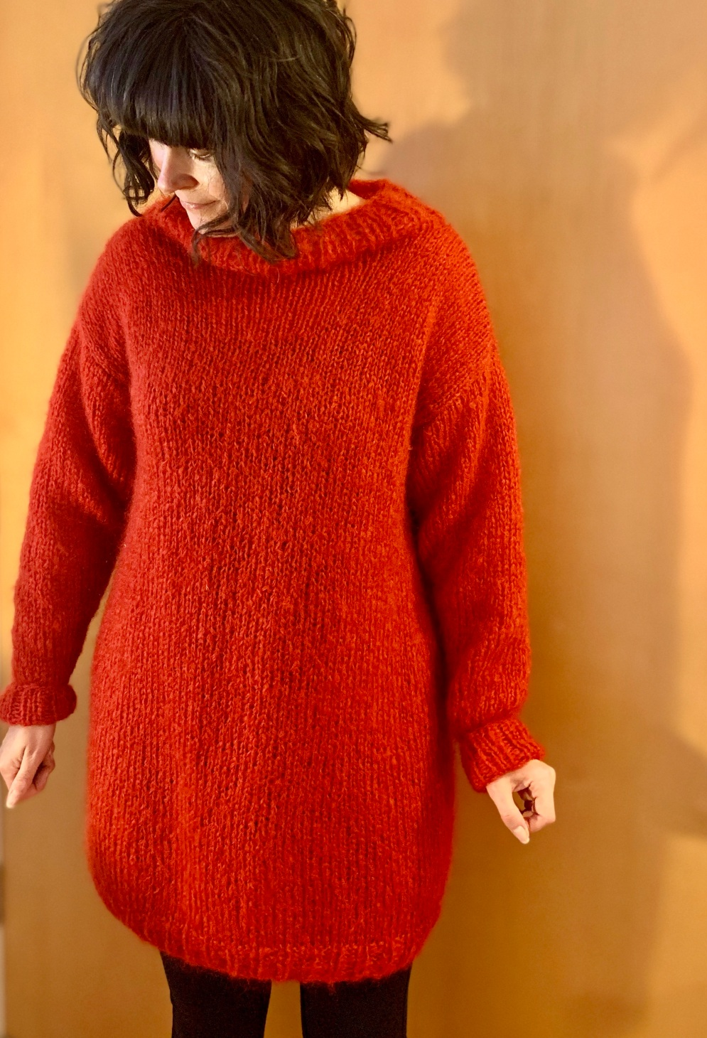 WATG Hotline Sweater lengthened