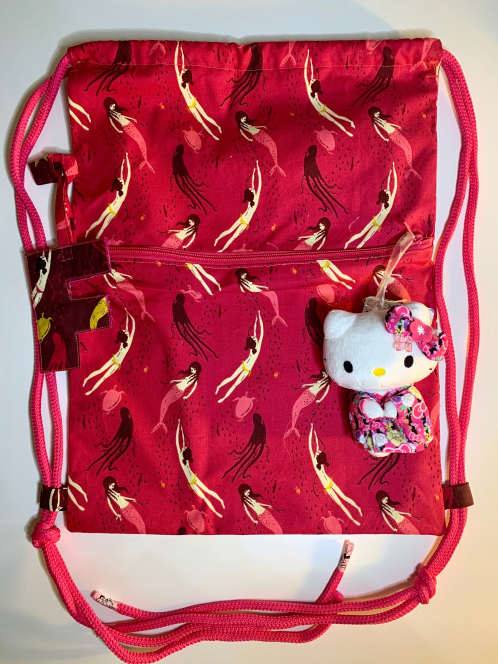 Child's swimming bag